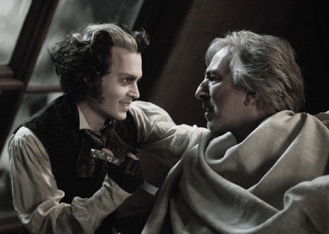 Johnny and Alan in Sweeney Todd