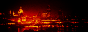 Bloody London Skyline